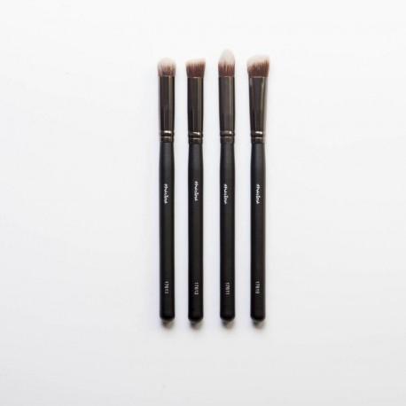 Set pinceles 4 pequeños kabuks